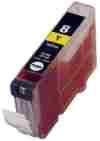 Neutral - kompatible Druckerpatrone für Canon 0623B001 CLI-8 Y ohne Chip yellow, Inhalt 14 ml für PIXMA IP 4200 4200 X 4300 4500 4500 X 5200 5200 R 5300 MP 500 TSW Tintenpatrone (kompatibel).Kein Original. CANON Pixma IP 4200 4200 X 4300 4500 4500 X 5200 5200 R 5300 MP 500, CANON Pixma IP 4200 4200 X 4300 4500 4500 X 5200 5200 R 5300 MP 500, CANON Pixma IP 4200 4200 X 4300 4500 4500 X 5200 5200 R 5300 MP 500, CANON Pixma IP 6600 6600 D 6700 D, CANON Pixma IP 6600 6600 D 6700 D, CANON Pixma IP 66